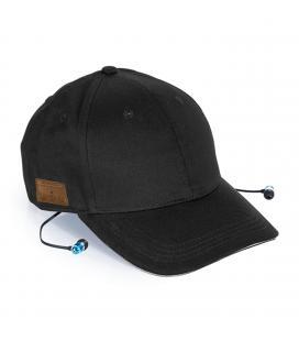 Gorra deportiva con auriculares incorporados phoenix phcapbtb / estereo / conexion bluetooth / manos libres / algodon / transpir