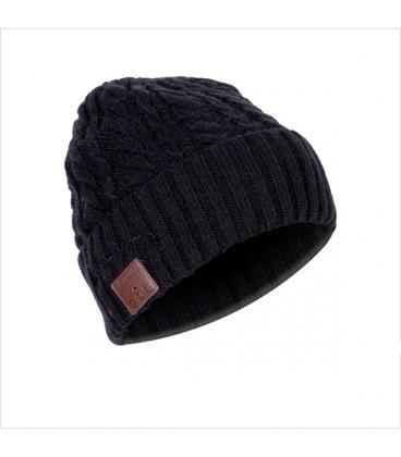 Gorro de invierno con auriculares incorporados phoenix phbeaniebtw estereo  conexion bluetooth   manos libres   color negro   dep 83247aa98f8