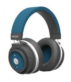 Auriculares bluetooth hp001btbl woo azul