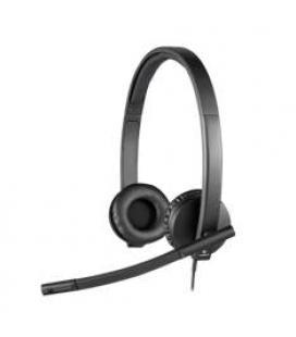 Auriculares logitech h570e con microfono/ diadema/ usb