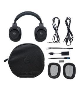 Auriculares logitech g433 7.1 surround gaming negro