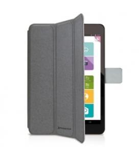 Funda cover case phoenix para tablet / ipad mini 2-4 aprox de 7.5 a material tipo skay gris