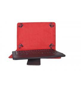 Funda universal + teclado bluetooth phoenix para tablet / ipad / ebook 8'' negra