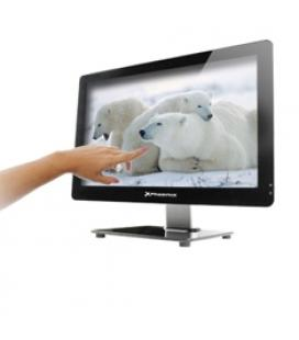 Barebone all in one tactil oem pantalla led 21.5''slim  usb hd audio lector memoria webcam fuente 150w - Imagen 1