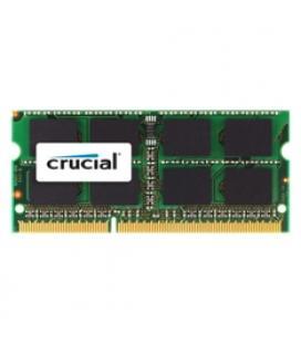 Memoria portatil ddr3 2gb crucial/ dimm 204/ 1066mhz/ pc3 8500/ cl 7/ 1.5v