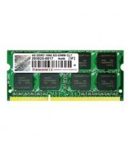Memoria portatil ddr3 4gb transcend/ 1066 mhz/ pc8500/ 256mx8
