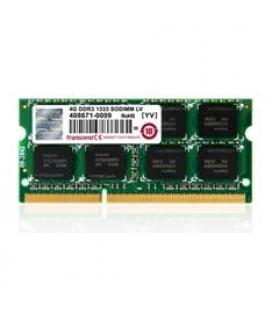 Memoria portatil ddr3 4gb transcend/ 1333 mhz/ pc10600/ 512mx8