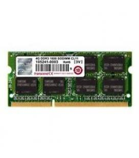 Memoria portatil ddr3 4gb transcend/ 1600 mhz/ pc12800/ 256mx8