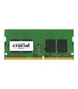 Memoria ddr4 8gb crucial/ sodimm 260/ 2400mhz/ pc4 19200/ cl 17/ 1.2v/ no ecc