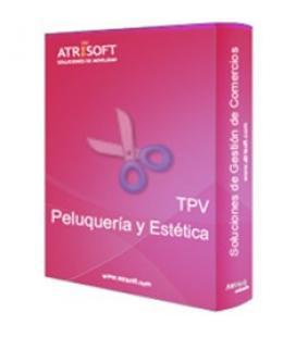 Programa tpv peluquerias y estetica atrisoft licencia electronica codigo activacion en factura - Imagen 1