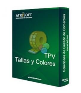 Programa tpv tallas y colores atrisoft licencia electronica codigo activacion en factura - Imagen 1