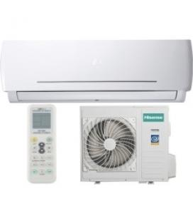 Aire acondicionado hisense as-12ur4syddc / serie pocket / inverter / 2.924 frig - a+ / 3440 kcal - a /  5 años de garantia en el