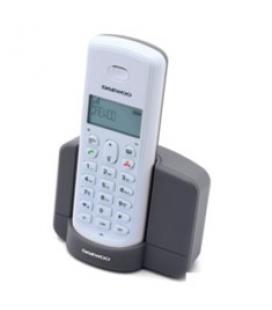 Telefono inalambrico dect daewoo dtd-1350b gris/ base cargadora/ gap