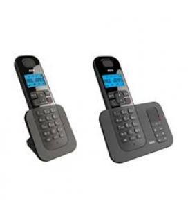 Telefono inalambrico aeg voxtel d505 twin/ negro