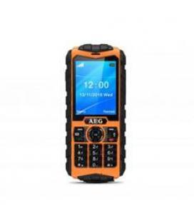 "Telefono movil aeg m550 2.4""/ naranja"