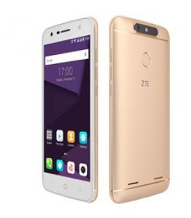 """Telefono movil smartphone zte blade v8 lite dorado / 5"""" / octa core / 16gb rom / 2gb ram / 13mpx-8mpx / 4g /  lector huella."""