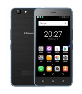 "Telefono movil smartphone hisense c30 lite rock azul/ 5""/ quad core/ 16gb rom/ 2 gb ram/ 8mpx - 5mpx/ dual sim/ 4g/ ip67"