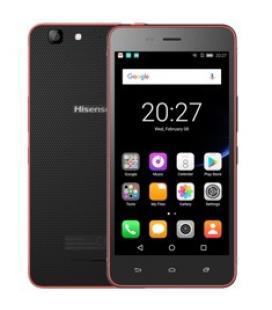 "Telefono movil smartphone hisense c30 lite rock rojo/ 5""/ quad core/ 16gb rom/ 2 gb ram/ 8mpx - 5mpx/ dual sim/ 4g/ ip67"