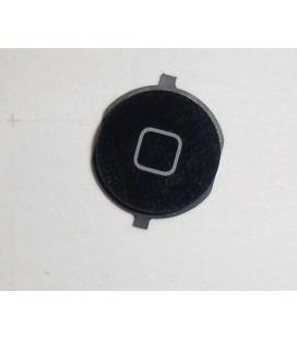 Repuesto boton home para apple iphone 4s negro