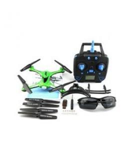 Drone jjrc h31 verde resitente al agua ( sin camara)y los golpes boton de retorno4 canales - Imagen 1