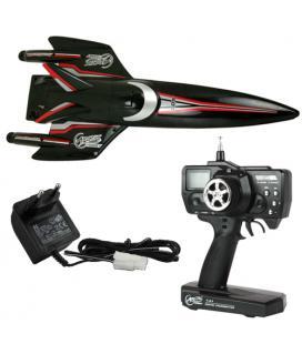 Arctic Aqua Rider 305 Negro 1:25 RC - Imagen 1