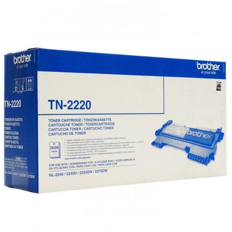 TONER BROTHER TN-2220 2600 PAGINAS - Imagen 1
