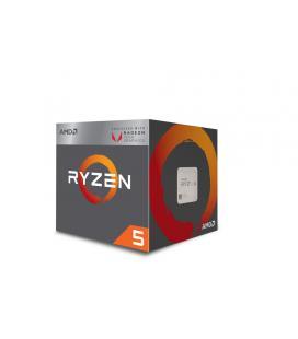 AMD Ryzen 5 2400G 3.6GHz 2MB L2 Caja procesador