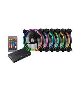 VENT 120X120 ENERMAX T.B. RGB PACK 6 UD