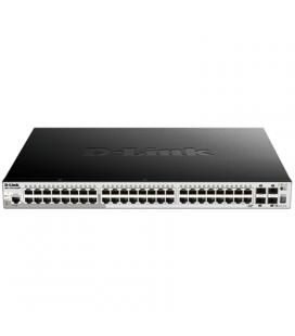 D-Link DGS-1510-52XMP Switch L2 52xGB PoE+ 4x10GB
