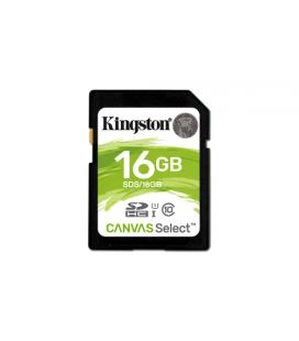 KINGSTON 16GB SDHC CANVAS SELECT 80R CL10 UHS-I