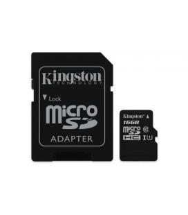 KINGSTON 16GB MICROSDHC CANVAS SELECT 80R CL10 UHS-I CARD +