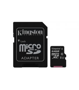 KINGSTON 64GB MICROSDXC CANVAS SELECT 80R CL10 UHS-I CARD +