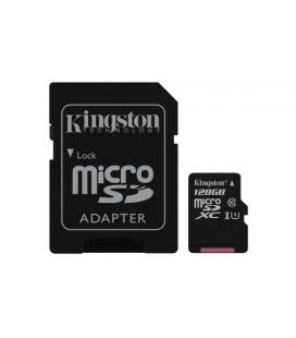 KINGSTON 128GB MICROSDXC CANVAS SELECT 80R CL10 UHS-I CARD +