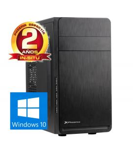 Ordenador phoenix basic intel celeron 4gb ddr3 500gb  rw micro atx windows 10 sobremesa