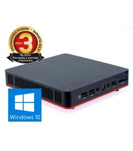 Ordenador phoenix compact intel celeron 4gb ddr3 1tb wifi windows 10 vesa 100x100