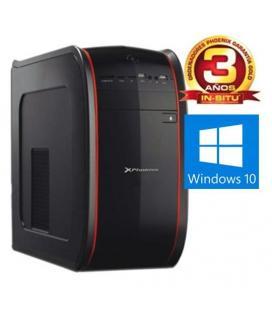 Ordenador pc phoenix actyon intel core i3 4gb ddr4 1tb rw micro atx sobremesa windows 10