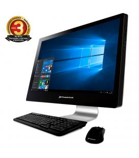 "Ordenador pc phoenix all in one cosmo intel pentium 4gb ddr4 500gb led 21.5"" wifi usb webcam teclado raton windows 10"