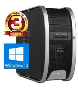 Ordenador phoenix mystic gaming amd fx 6300 hexa core vga radeon r7 250 2gb 8gb ddr3 1tb rw atx pc windows 10