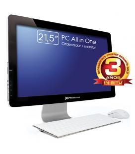 "Ordenador phoenix all in one constellation intel core i34gb ddr3 1tb  led 21.5"" rw wifi webcam teclado + raton"
