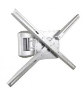 Soporte articulado de pared phoenix para pantalla tv rotacion  giro e inclinacion 20º hasta 35 kg gris metalizado