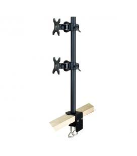 Soporte dual vertical para pantalla tv y monitor phoenix hasta 6kg cada pantalla / ajustable / movimiento completo/ con fijacio