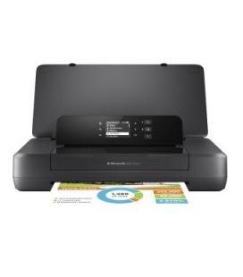Impresora portátil hp wifi officejet 200 - 20/19 ppm(ca) - pantalla monocroma 5.08cm - usb - eprint - batería recargable -