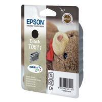 Cartucho tinta negro epson t0611 - 8ml - osito de peluche - compatible segun especificaciones