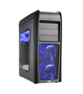 Lian Li Lancool K63. Negra. Luz Azul. FirstKnight