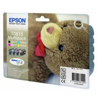 Cartucho tinta epson t0615 multi-pack 8 ml negro/color - osito de peluche