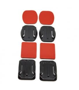 Accesorio soporte adhesivo 3m curvos  + planos phoenix para camaras sport & gopro hero 4/3+/3/2/1 flat and curved adhesive mount
