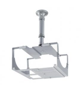 Soporte techo extensible videoproyector universal phoenix hasta 16kg gris - Imagen 1