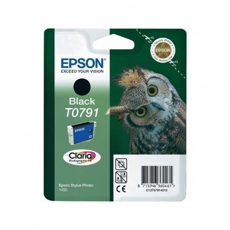 CARTUCHO EPSON T0791 11.1ML NEGRO - Imagen 1