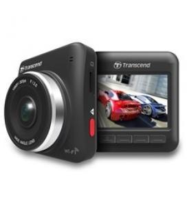 Video camara transcend drive pro 200 hd para coche/ 2.4''/ wifi/ sensor g/ 16gb microsd
