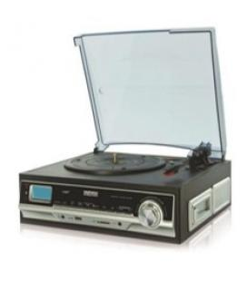 Giradiscos/ tocadiscos daewoo funcion encoder mp3/ usb/ sd/ cassete/ am/fm - Imagen 1